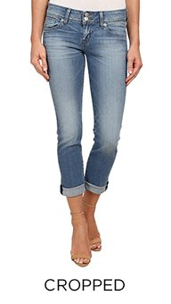 PerfectFit - Women's Cropped Jeans