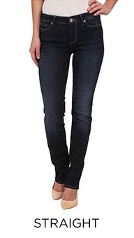 PerfectFit - Women's Straight Jeans