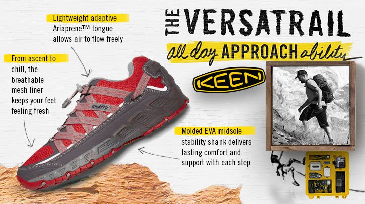 Keen - Hero - Versatrail Approach Shoes