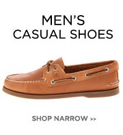 Men's Narrow - Casual