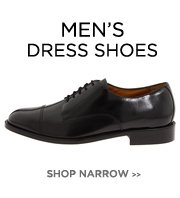 Men's Narrow - Dress