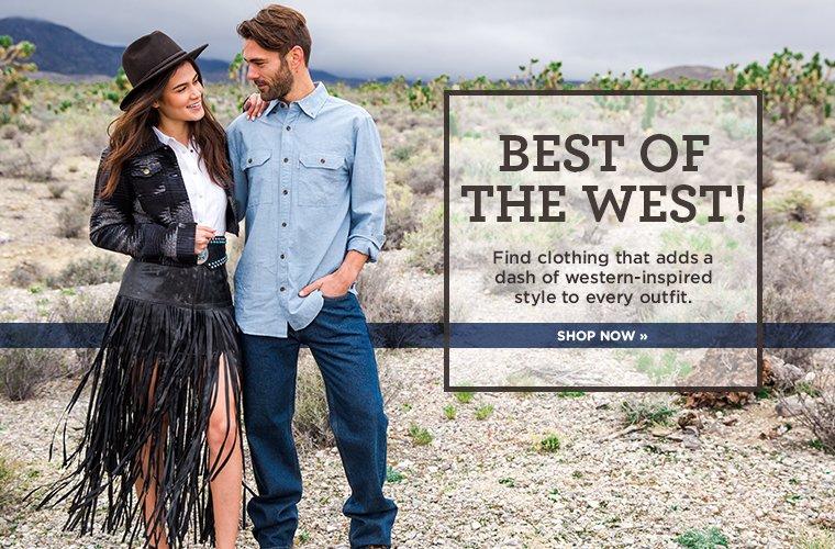 Hero 1 - Westernwear, Western Clothing