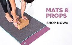 Yoga Promo 1 - Yoga Mats and Props