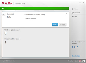 AntiVirus Plus Scanning
