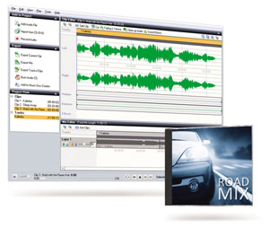 Import and convert audio files to popular formats
