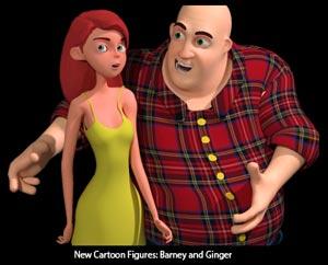 New Cartoon Figures