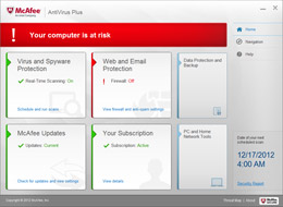 Computer Risk Alerts screenshot