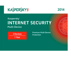 Kaspersky Internet Security 1 User Boxshot