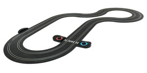 One of the track layouts