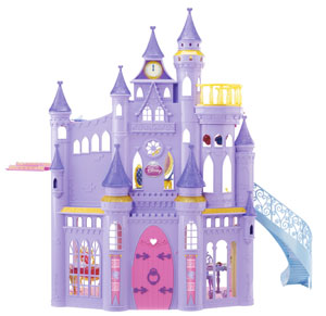 Disney princess ultimate dream castle mattel toys games - The dollhouse from fairy tales to reality ...