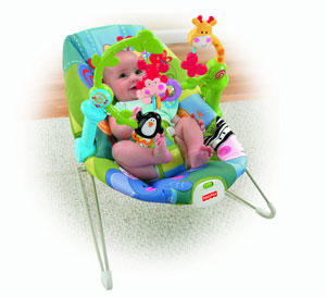 Infant in the bouncer 02