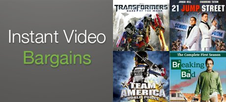 Great Prices on Movies & TV
