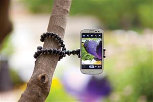 The GripTight GorillaPod Stand is compatible with best-selling smartphones