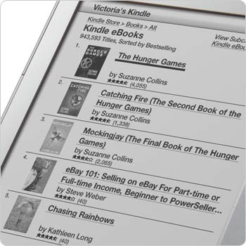 Shop the Kindle Store, direct from your device