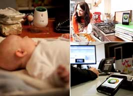 BT Smart Audio baby monitor.