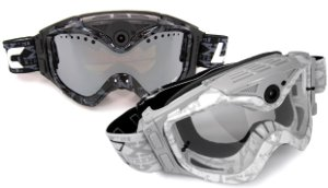 Picture shows the black and white versions of the All-Sport goggles.