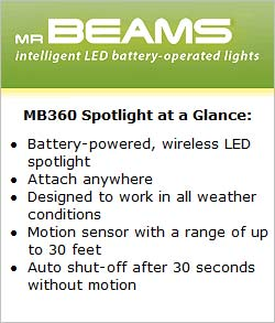 Mr Beams MB360 Spotlight at a Glance