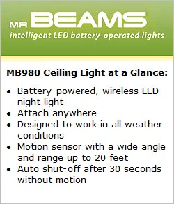 Mr Beams MB980 Ceiling Light at a Glance