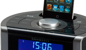 DAB dock for iPod and iPhone