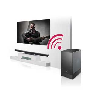 LG's Wireless Subwoofer