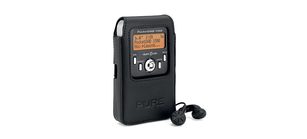 pure pocketdab 1500 rechargeable personal dab fm radio. Black Bedroom Furniture Sets. Home Design Ideas