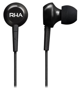 Rear and profile view of MA150 in-ear headphones