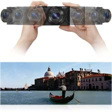 Capture breathtaking, all-encompassing views with 360 Sweep Panorama.