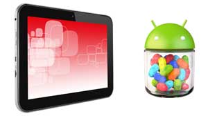 Optimised for tablets, Android 4.1 lets you choose from hundreds of thousands of apps.