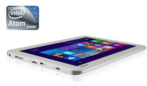 Power for the Encore 2 WT10-A is provided by a quad-core Intel Atom processor