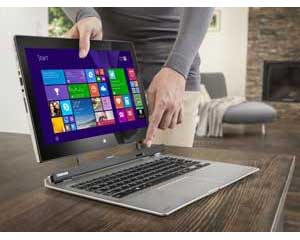 The Toshiba SatelliteClick 2 L30W is an innovative 2-in-1 laptop and tablet - simply detach the screen from the dock.