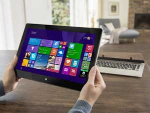 In either mode, the L30W offers you a responsive touchscreen experience - perfect for Windows 8.1