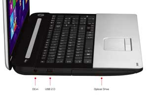 See some of the features of the Toshiba Satellite C75 laptop
