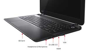 See some of the features of the Toshiba Satellite S50-B laptop