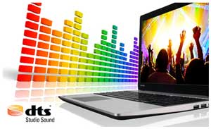 Equipped with DTS Studio Sound and a vivid 15.6