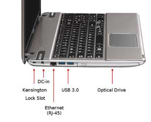See some of the features of the Toshiba Satellite P855 laptop