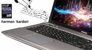 Premium Harman Kardon speakers help give you rich, high-quality stereo sound..