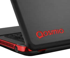 Designed to look as good as it performs, The Qosmio X870 comes with a striking brushed-metal design with engraved red logo