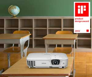 Compact and stylish SVGA projector
