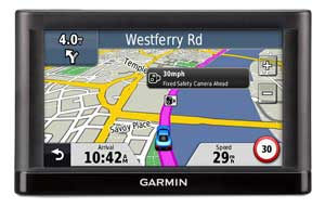 Garmin nuvi 52 safety camera alerts