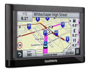 Garmin nuvi 65LM Find Places Easily