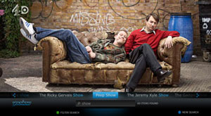 Search across all of YouView's content