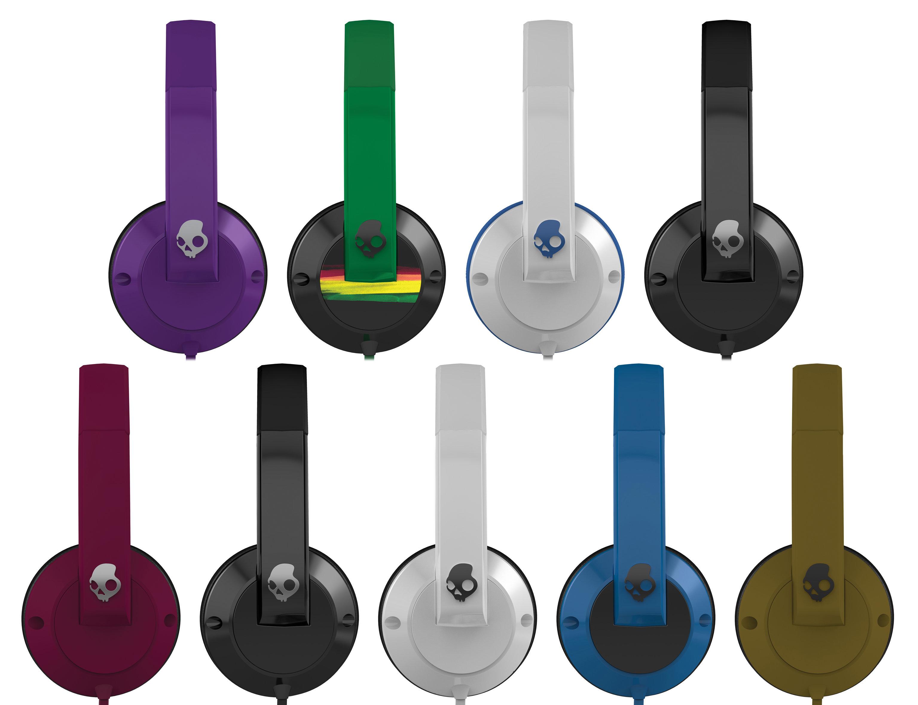Skullcandy Uprock 2 0 On Ear Headphones Black Black Amazon co uk Electronics