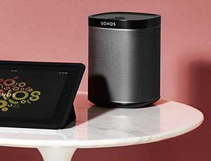 Play:1 - The compact wireless speaker that delivers deep, crystal clear HiFi sound.