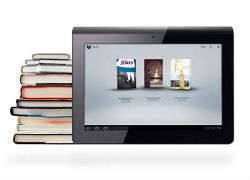 Fancy a reading book? Its easy with a simple swift swipe of your finger.