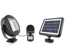 The Solar Centre Eye Solar Security Light
