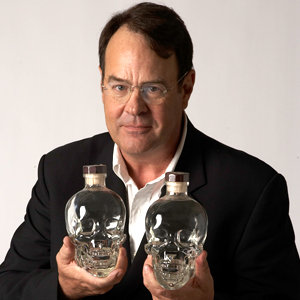 Dan Aykroyd the founder of Crystal Head