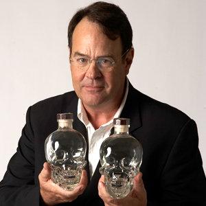 Dan Aykroyd the founder of Crystal Head