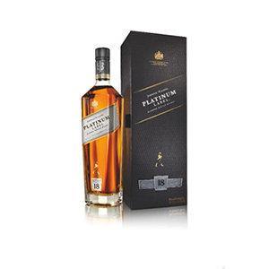 Johnnie Walker Platinum label Bottle and pack visual