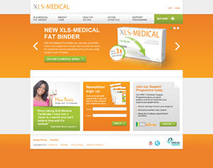 XLS-MEDICAL Website screenshot