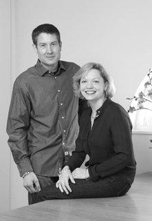 Dan Dower & Diane Hall Portrait 2012